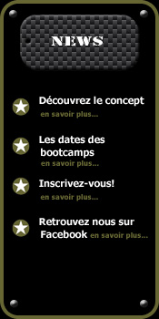 Bootcamp Bordeaux Menu
