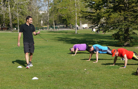 Boot Camp Bordeaux au Parc Bordelais